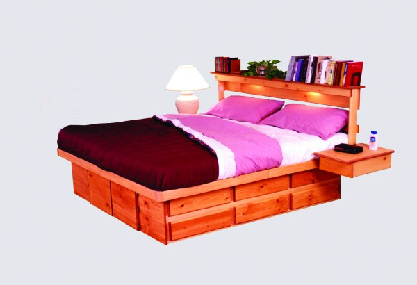 & Ultimate Bed Platform Beds with Drawers